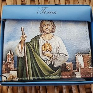 Tems Accessories - Tems Saint Judas Bifold Wallet New in Box